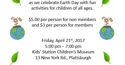 Kids station childrens museum join us and celebrate earth day ccuart Image collections