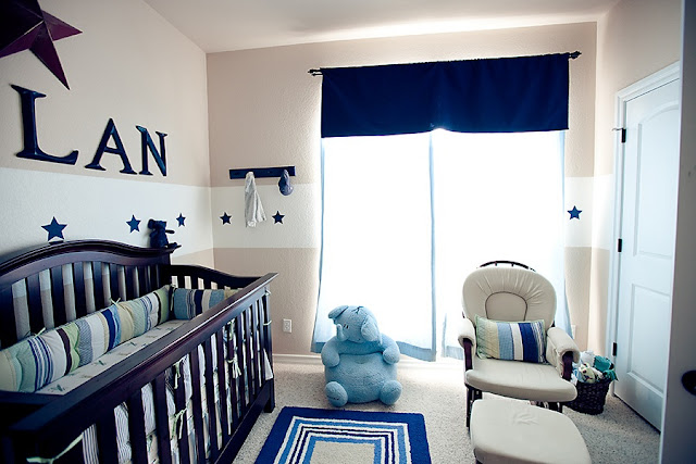 10 belles chambres de bébé garçon