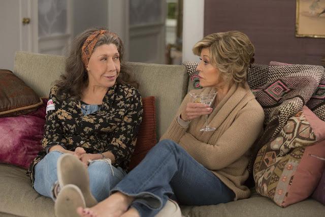La segunda temporada de 'Grace and Frankie' llega mañana a Netflix