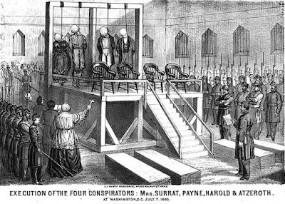 Execution of the Four Conspirators