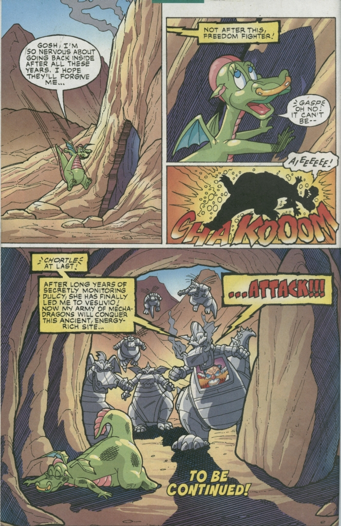 Read online Sonic The Hedgehog comic -  Issue #155 - 46