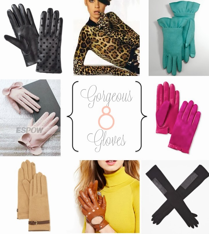 Gloves, winter accessories, chic gloves