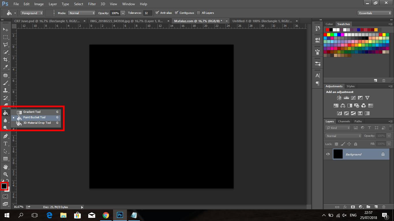 Cara Membuat Tulisan CRIS7ANO Ala Juventus Di Photoshop - 3