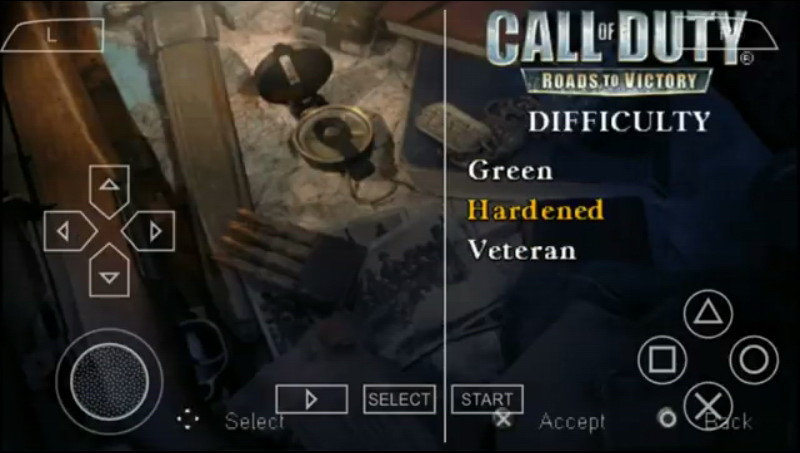 Call Of Duty Road To Victory ISO CSO PPSSPP