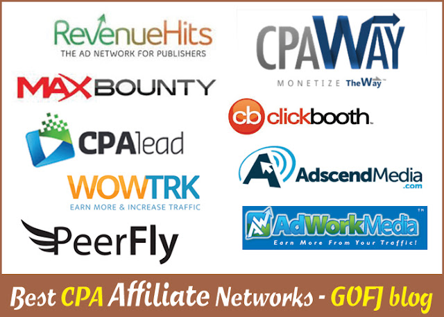 Cost per action (CPA) affiliate programs & networks