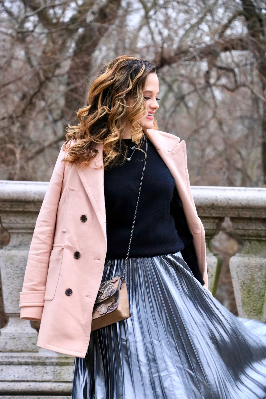 Nyc fashion blogger Kathleen Harper's winter street style