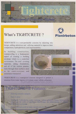 TIGHTCRETE Beton Readymix Waterproof