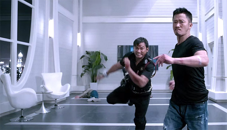 Tony Jaa und Louis Koo in SHA PO LANG 2 (2015). Quelle: Splendid
