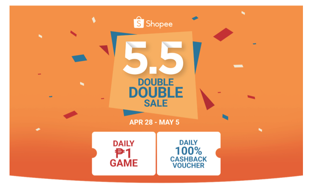 3a0aea61e015d Tapping on its deep understanding of the tastes and preferences of Filipino  shoppers, Shopee introduces the Shopee 5.5 Double Double Sale features a  wide ...