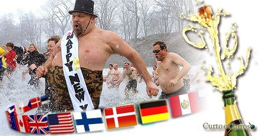 As comemorações mais estranhas do Ano Novo no mundo