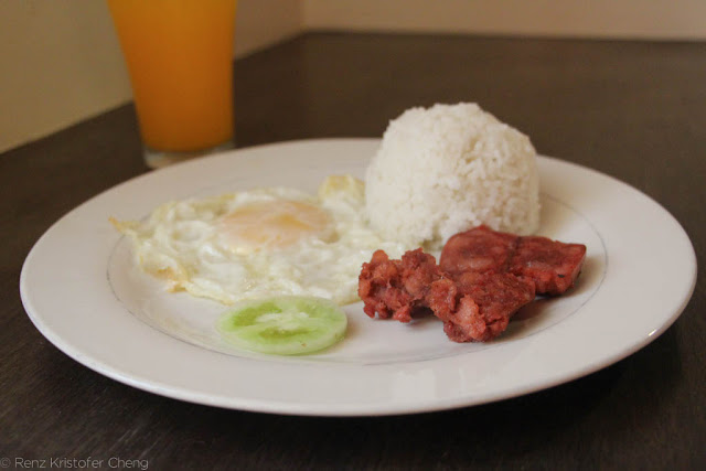 Filipino Breakfast - Chorizo