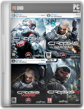 Capa%2B %2BCrysis%2BA - crysis ANTHOLOGY 2007-2011 PC