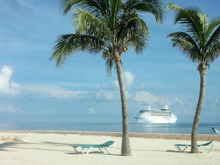 Beach, Cruise Ship