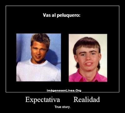 expectativa vs realidad: corte de pelo