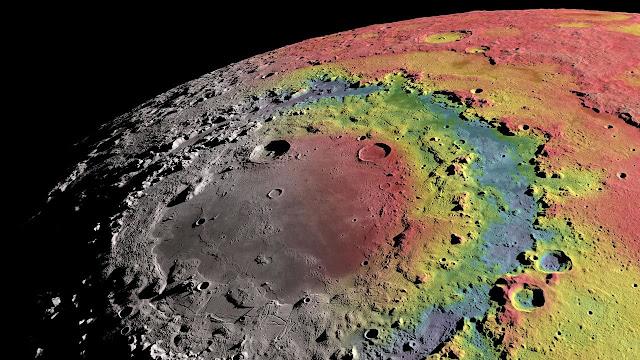 Revelada a origem da maior cratera da Lua