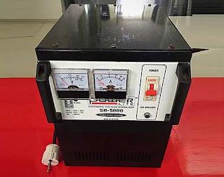 Darmatek Jual POWERLITE SH-5000 Analog Stabilizer