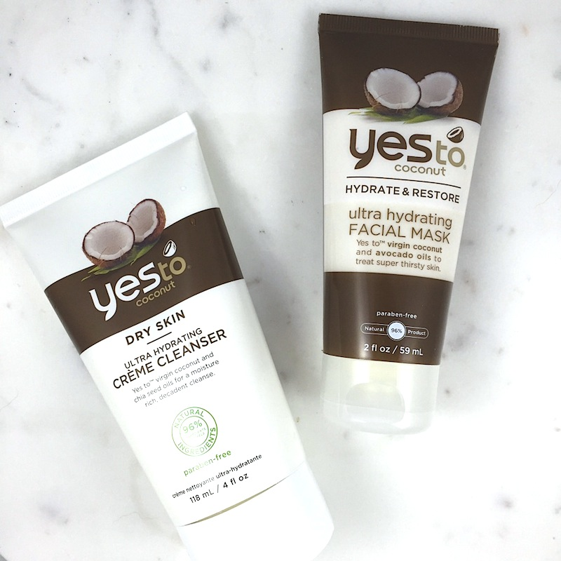 Yes to Coconut Ultra Hydrating Cream Cleanser and Facial Mask: A quick review