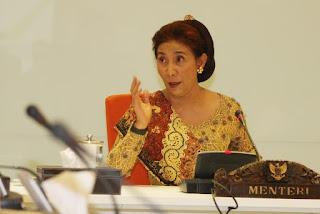 Menteri Kelautan dan Perikanan, Susi Pujiastuti : Cina Geram Kita Juga Bisa Geram ! Commando