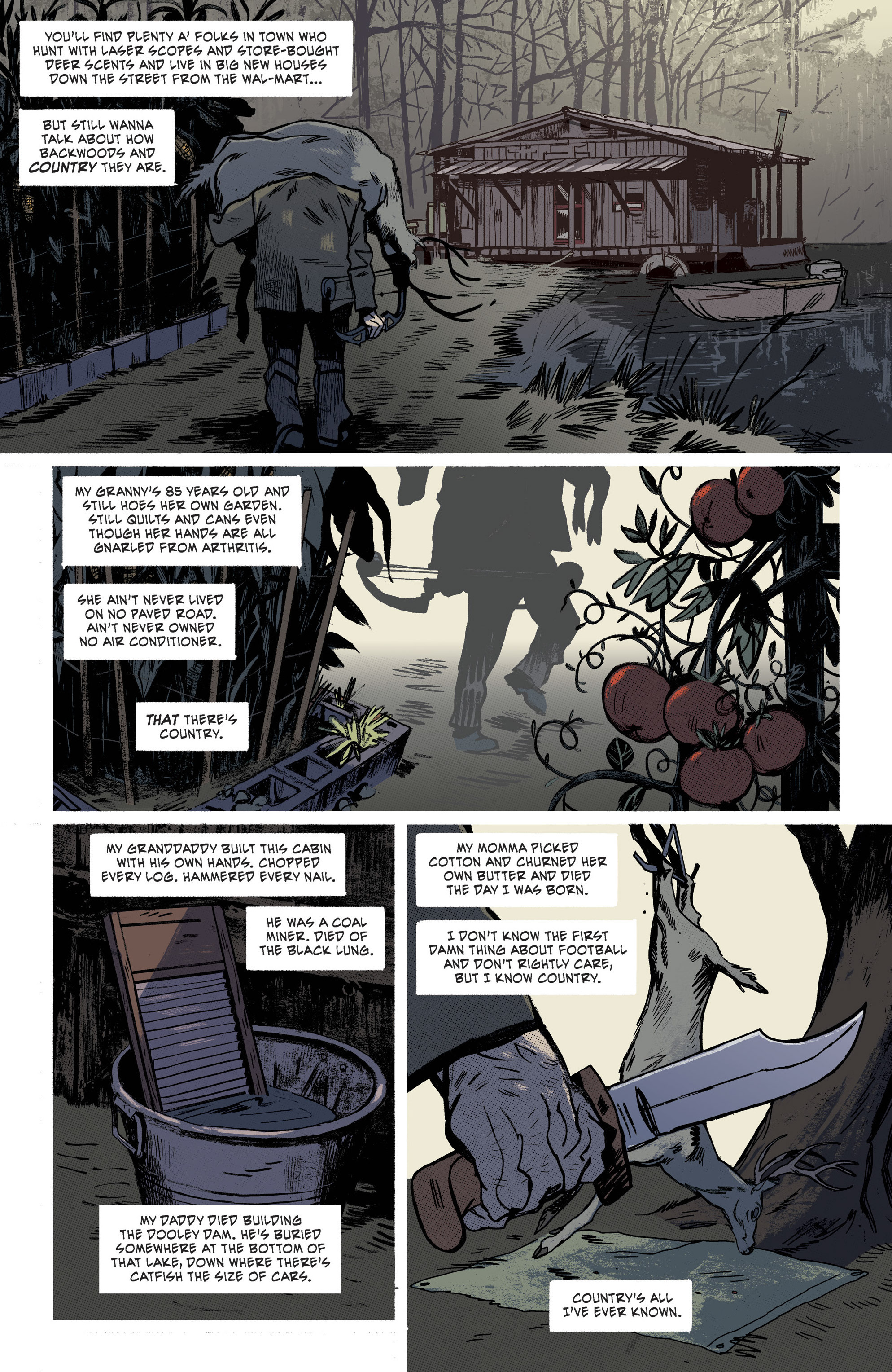 Read online Southern Bastards comic -  Issue #11 - 5
