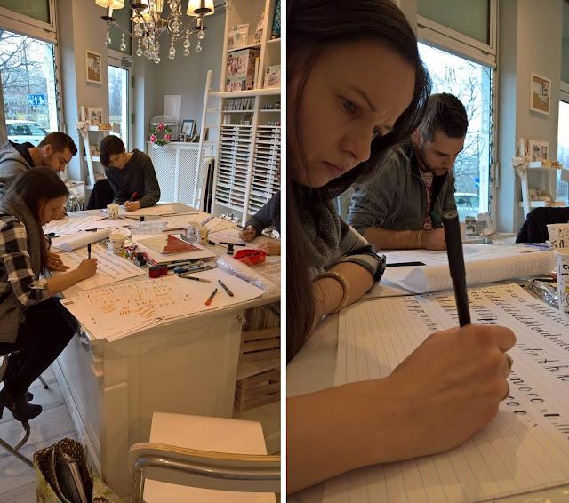 Kaligrafia / Brush Lettering – moja nowa przygoda