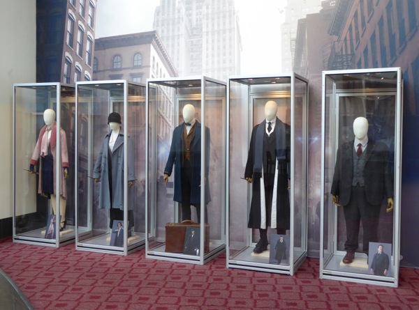Fantastic Beasts movie costume exhibit ArcLight Hollywood