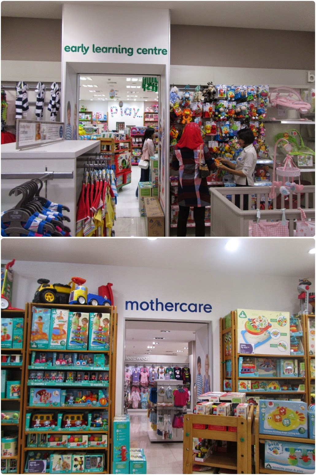 Connecting Door Mothercare & ELC