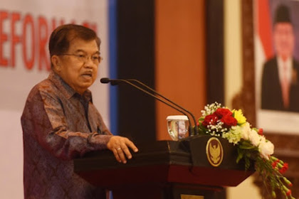 Jusuf Kalla Launching Kantong Plastik Berbayar, Harganya Rp 15 Ribu