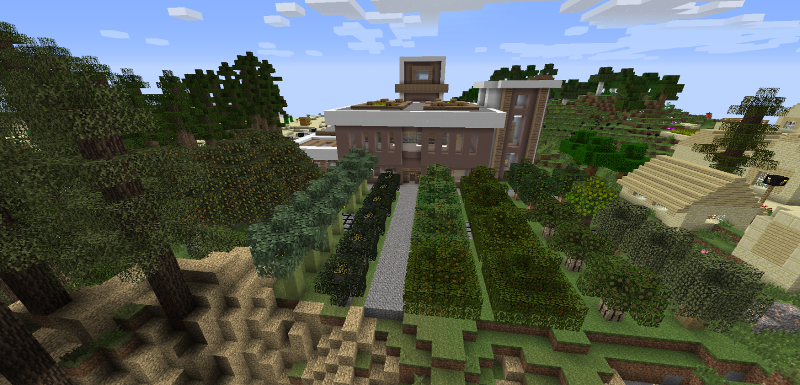 Modjo Minecraft: Tidy Orchard