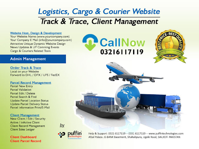 Start Branding your Own Cargo and Courier Business Website
