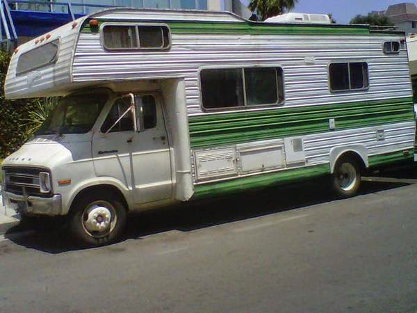 For Sale 1976 Dodge Fireball RV