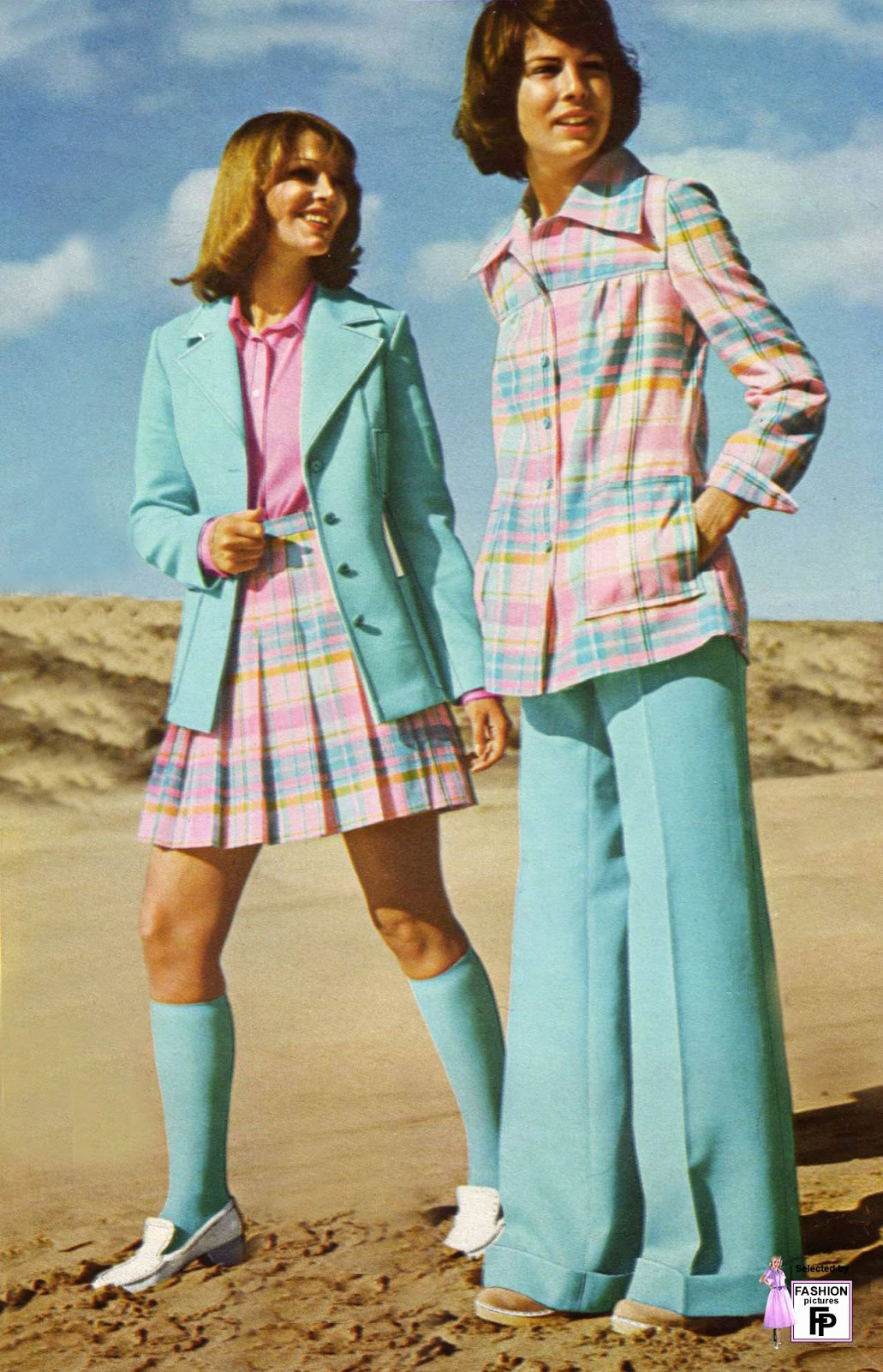 Look Retro 50 Awesome And Colorful Photoshoots Of The 1970s Fashion