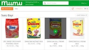 Beli Makanan Anak Online