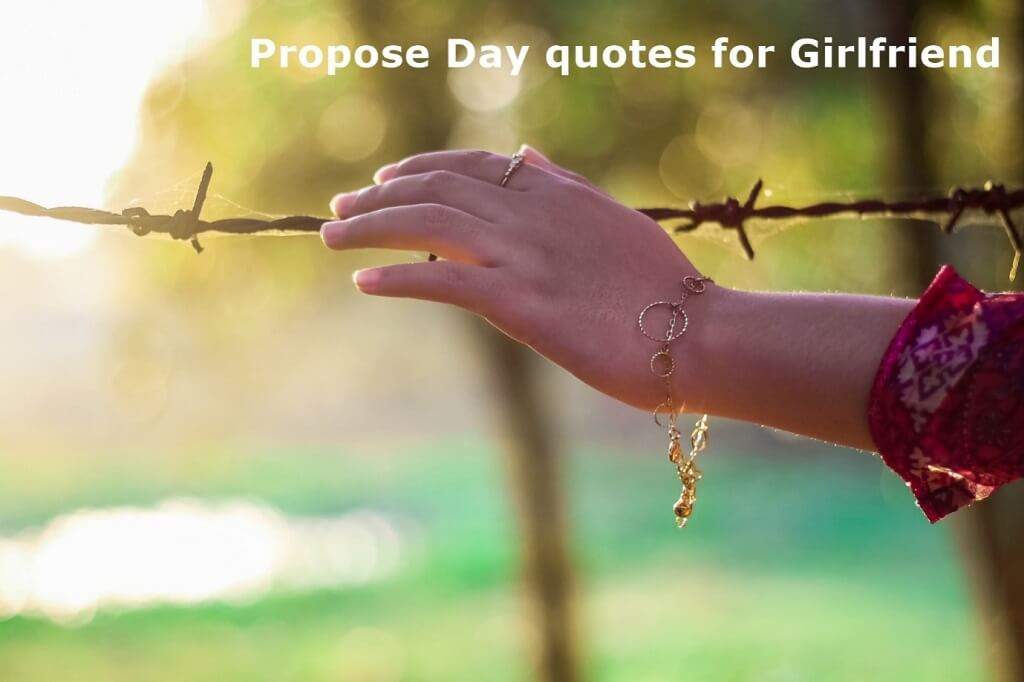 Happy Propose Day Quotes & Wishes for Girlfriend