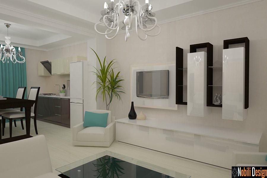 Design interior - living open space apartament 4 camere - Bucureti, Constanta, Brasov, Ploiesti, Pitesti,
