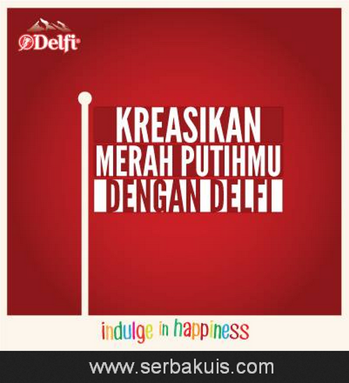 Kreasikan Merah Putihmu with Delfi bar