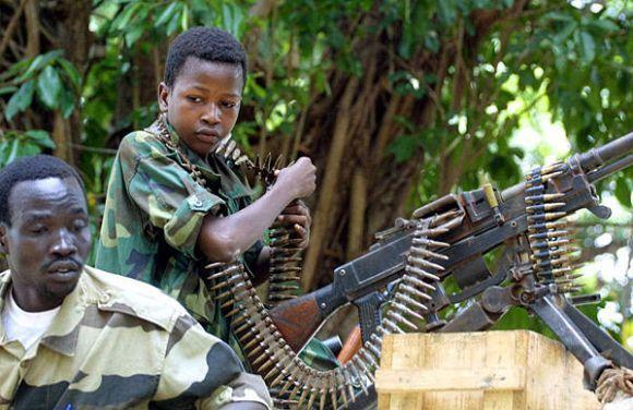 Tentara anak Afrika
