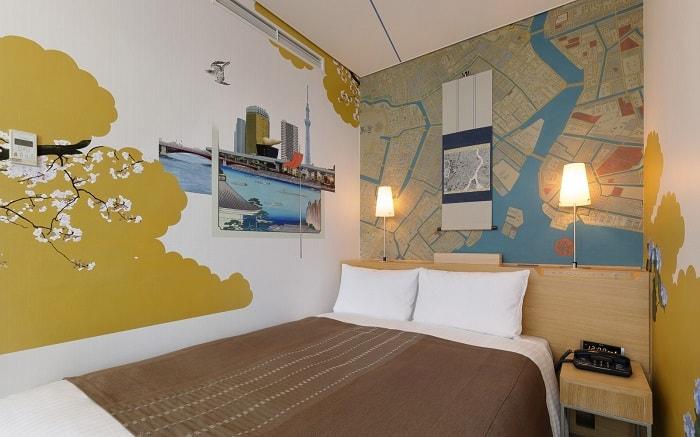 No. 19 – Park Hotel Tokyo Artist Room 'Edo – Tokyo' designed by Hidetaka Furukawa