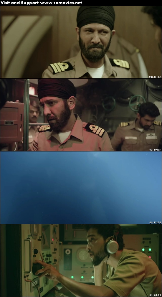 The Ghazi Attack 2017 Hindi HDRip X264 700MB ESubs