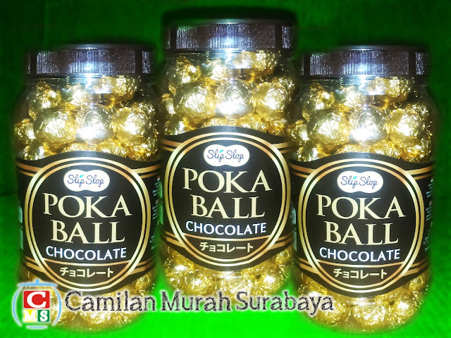 POKA BALL CHOCOLATE Murah SURABAYA