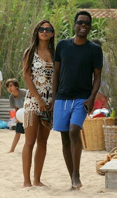 Chris Rock's girlfriend Megalyn Echikunwoke shows off her ...