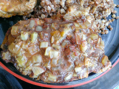 Pieczona karkówka wieprzowa