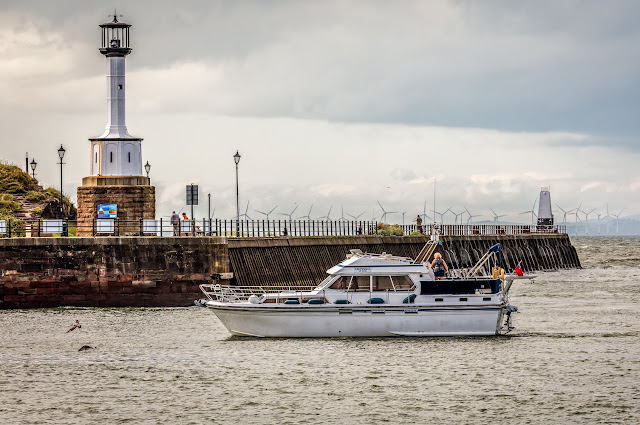 Photo of Ravensdale returning to Maryport on Monday. Photo by Ronnie Bell