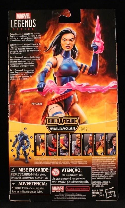 She's Fantastic: Marvel Legends X-Men - PSYLOCKE!