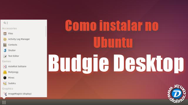 Como instalar o Budgie Desktop no Ubuntu