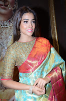 Shriya Saran Looks Stunning in Silk Saree at VRK Silk Showroom Launch Secundrabad ~  Exclusive 014.JPG