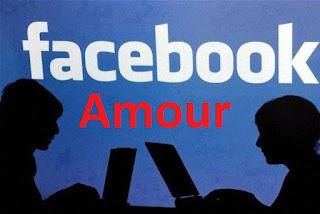Poème d'amour sur Facebook  image