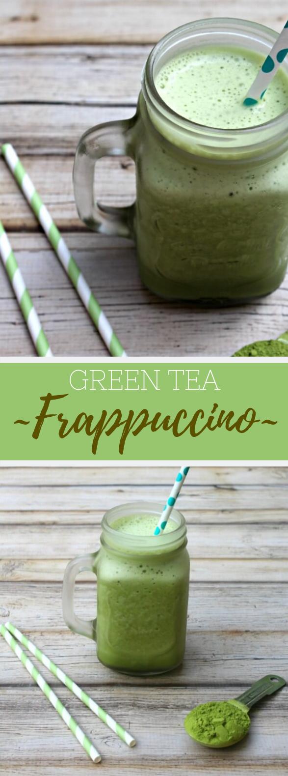 Green Tea Frappuccino Recipe #Drink #Lowsugar