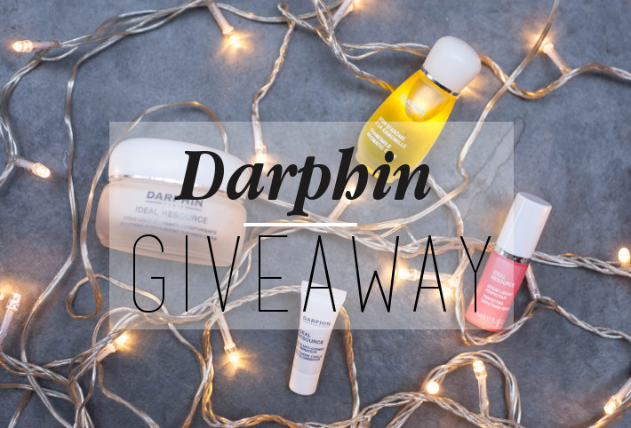 Giveaway: Darphin skincare giveaway