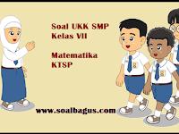 Soal UKK/ UAS Matematika Kelas 7 Semester 2 Th. 2019