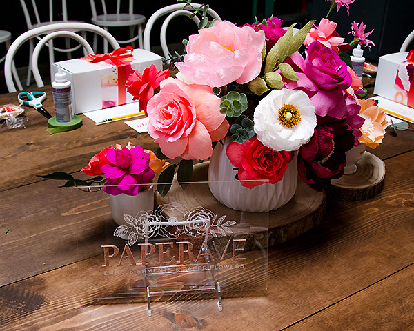 Interiors by jacquin entertaining with style paper ave parties my name is donna tran corona and i am the artist and owner of paper ave a business that specializes in colorful and cheerful handmade crepe paper flowers mightylinksfo